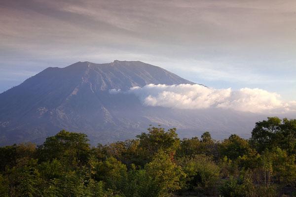 Gunung Agung, Bali, Indonesien