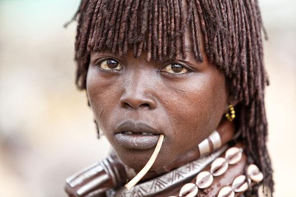 Hamar Frau Turmi Äthiopien