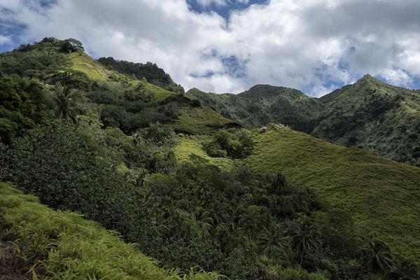 Landschaft von Nuku Hiva/ Marquesas Inseln