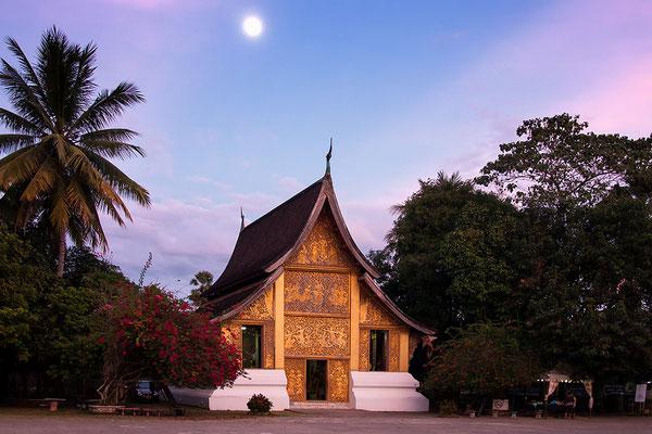 Wat Xieng Thong/ Tempel in Luang Prabang Laos