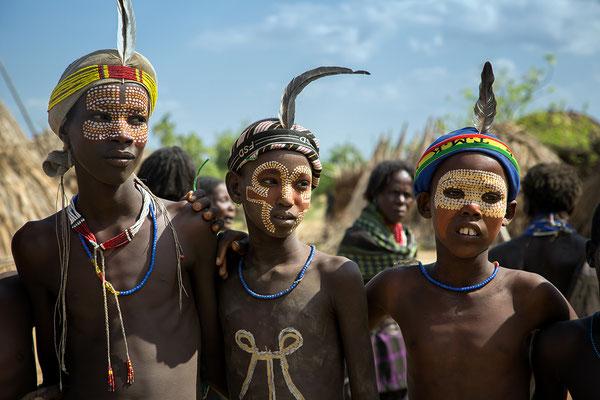 Arbore Jungs Äthiopien