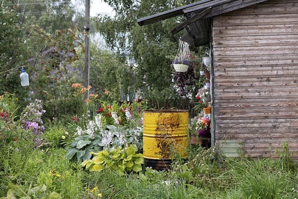 Im Dorf Goritsy