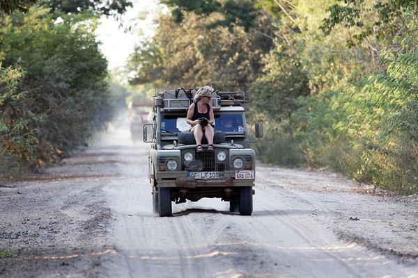 Auf Pisten durch das Pantanal