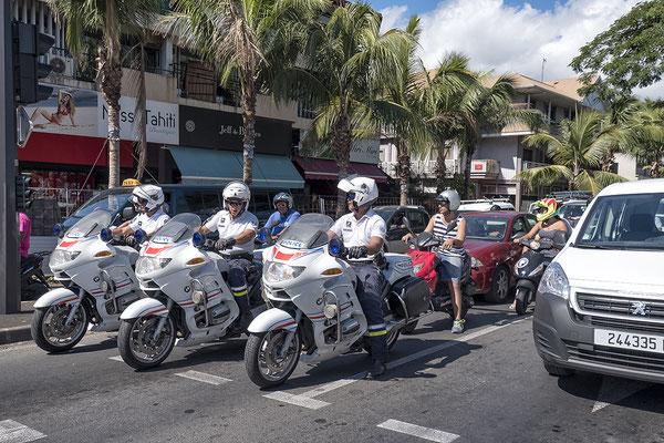Verkehr in Papeete