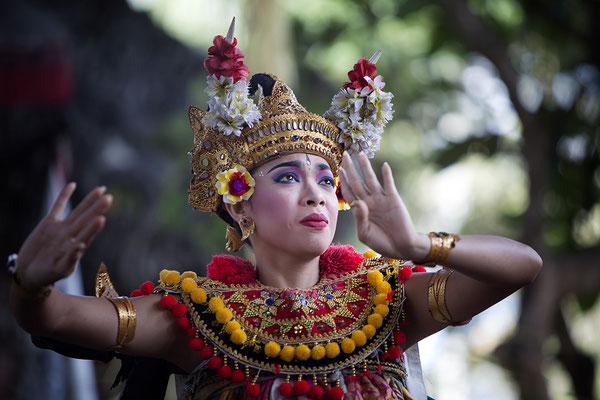 Barong Tanz, Bali, Indonesien