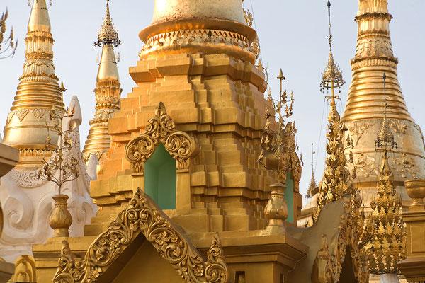 Shwedagon-Pagode in Yangon Myanmar