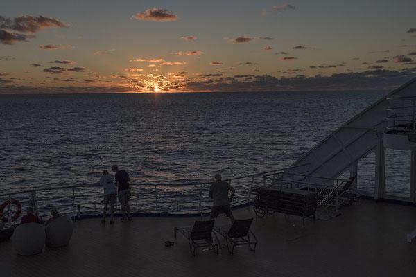 Sonnenuntergang im Pazifischen Ozean