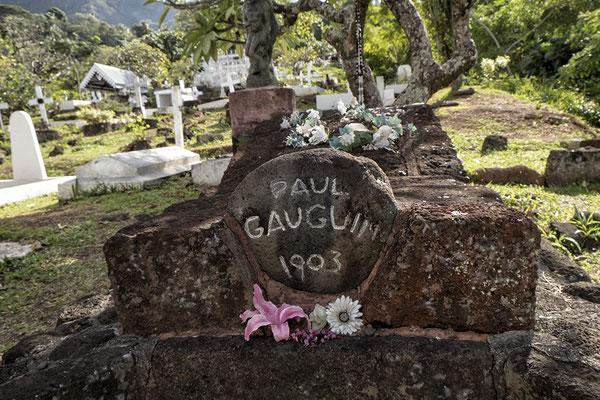 Grab von Paul Gauguin in Atuona auf Hiva Oa