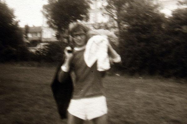 Mathy Billen patro met bril 1974
