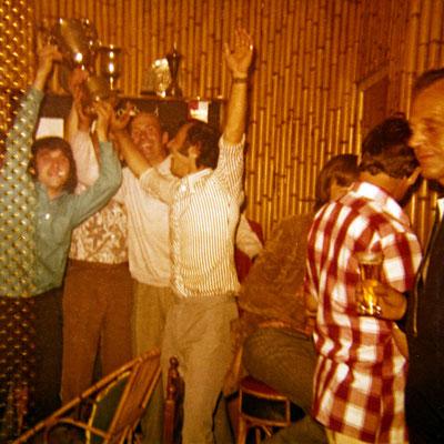 Mathy Billen kapt FC Berg mei-juni 1973