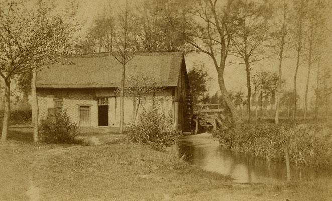 Neeroeteren Kleeskensmolen 1885  Nagant