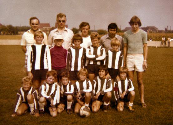 Mathy Billen 1975 jeugdploeg wvv