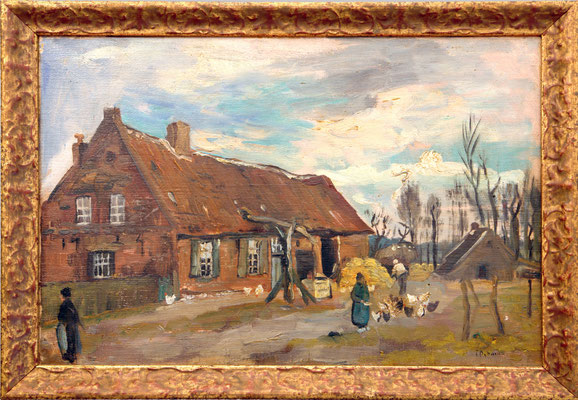 Biljenhof of Bilsenhof zoals Paul Peeters schrijft, maar ook Billen huis vinden terug. Gelegen langs de Taemweg in Voorshoven.