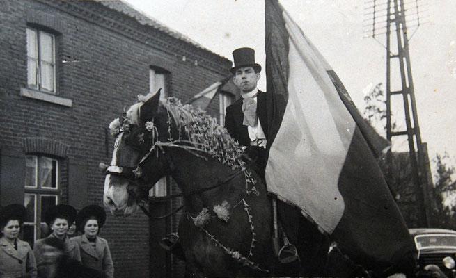 Pier Mierten met paard