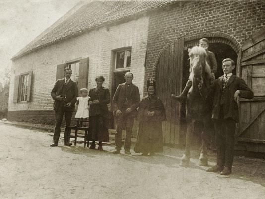 Boerderij aan kanaalstraat 1 juli 1919