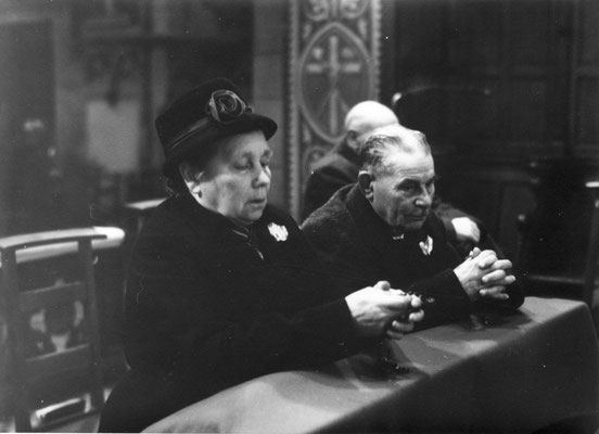 Marianne en Lens in de Sint Lambertuskerk