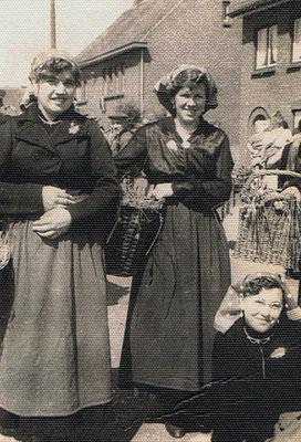Mia van de Slechter (Beenders) en Jeanne Winters