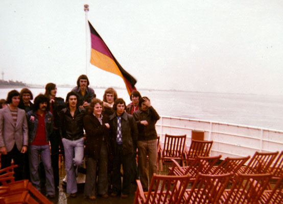 Mathy Billen patro in bremerhaven tornooi 31mei tot 4 juni 1974