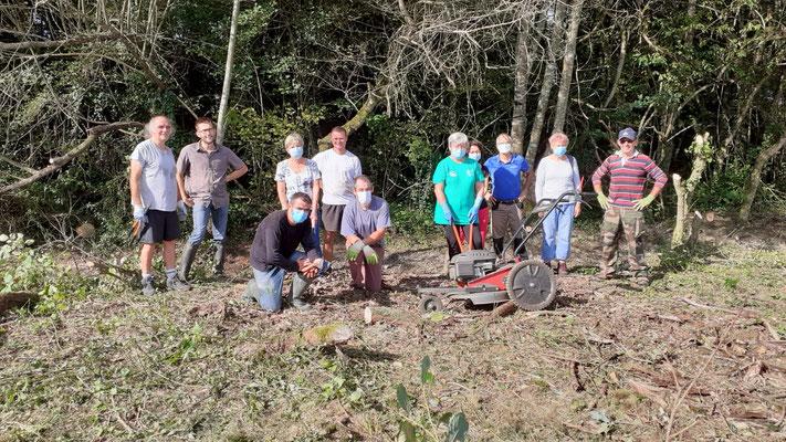 Chantier participatif Nettoyage des chemins de randonnées 19 septembre 2020