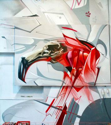 Graffiti Projekt Gesamtansicht