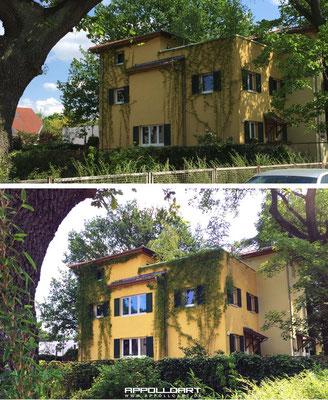 Illusionsmalerei Berlin Fenster