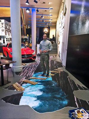 3D Malerei Fussboden