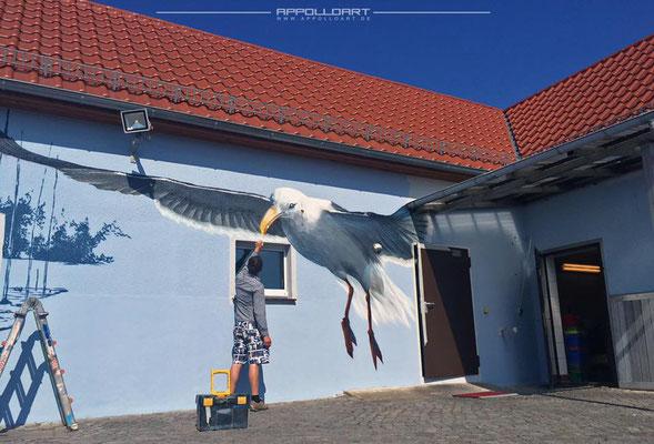 Möwe für Fischer Unternehmen in Berlin