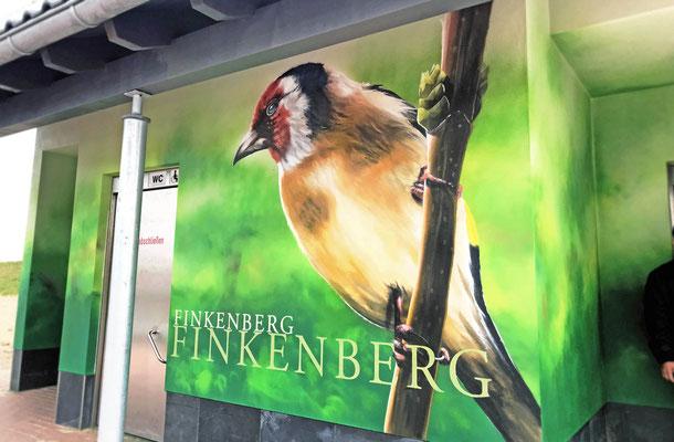 Rastplatz Haus Finkenberg mit Finken
