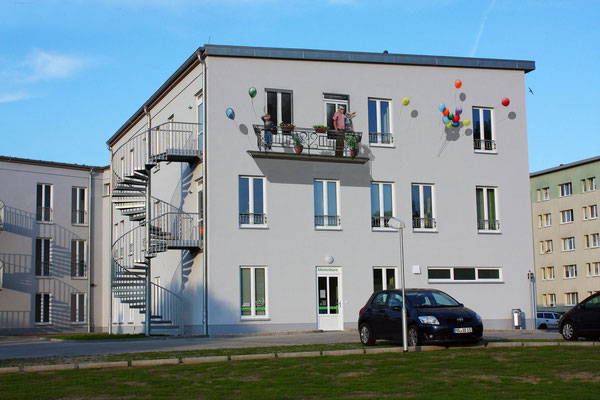 Illusionsmalerei Balkon