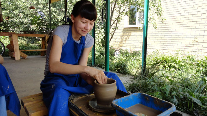 мастер класс по гончарному мастерству