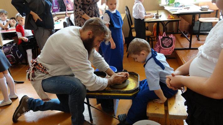 мастер класс по гончарному мастерству в школе