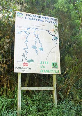En jambe. L' Entre-Deux - Île de la Réunion - Août 2016.