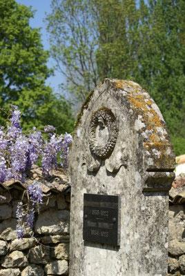 Tombe protestante, cimetière privé