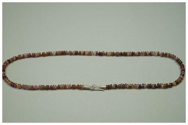 rosa Turmalinkette mit 925er Silber / 179,- €