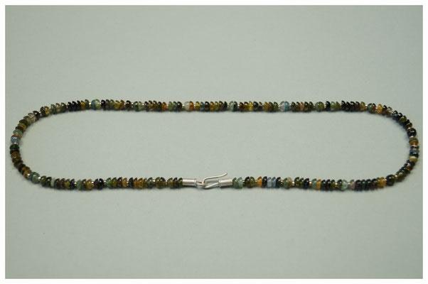 grüne Turmalinkette mit 925er Silber / 179,-€