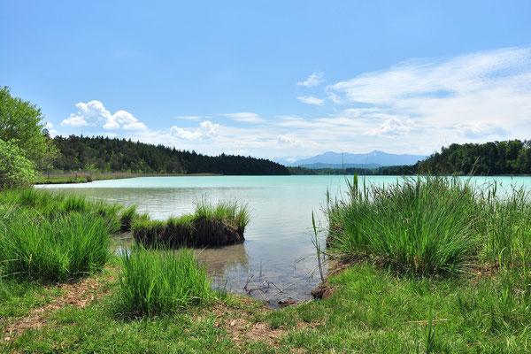 Bayern, Seen, Wanderung, Ostereen