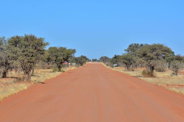 Namibia - Rundfahrt - Reise - Rundreise - Landschaft - Straße