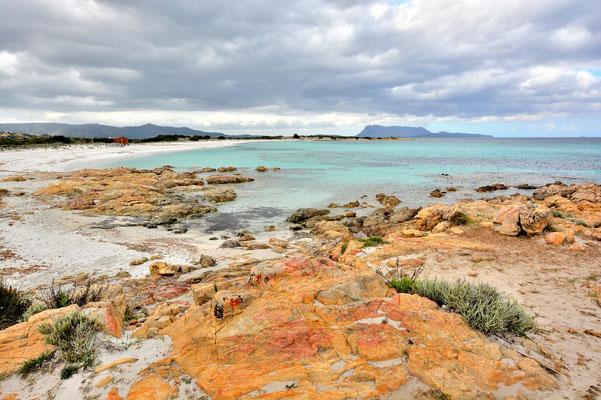 Sardinien, Sardegna, Landschaft, See, Küste, Bucht, Felsen, Ottiolu