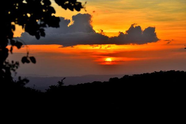 Pura Vida - Costa Rica - Rincon de la Vieja - Sonnenuntergang