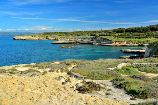 Sardinien, Sardegna, Landschaft, See, Küste, Bucht, Porto Torres