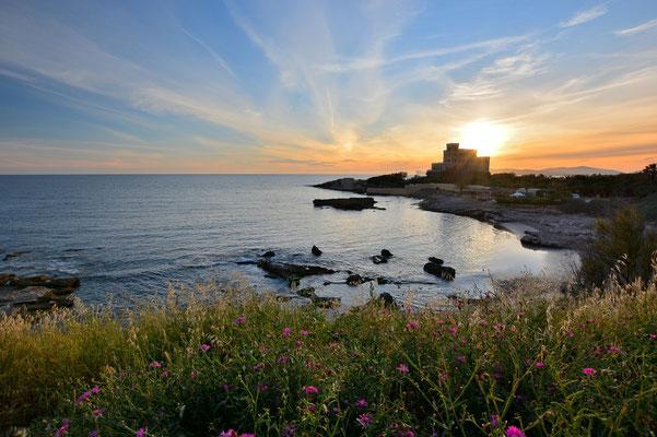 Sardinien, Sardegna, Landschaft, See, Küste, Bucht, Alghero