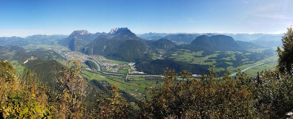 Panorama - Drohnenfoto - Landschaft - Berge - Alpen - Ausflug - Wanderung - Kala Alm