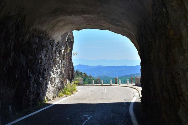 Frankreich, Elsass, Landschaft, Tunnel