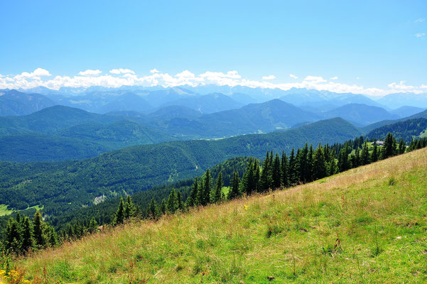 Bayern, Alpen, Wanderung, Landschaft, Berge, Brauneck