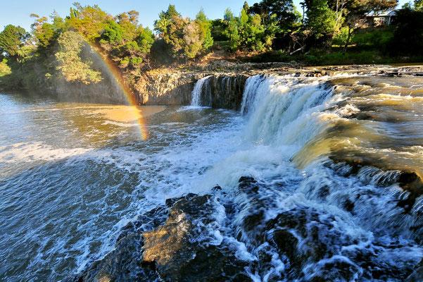 Neuseeland, Nordinsel, Wasserfall, Haruru Falls