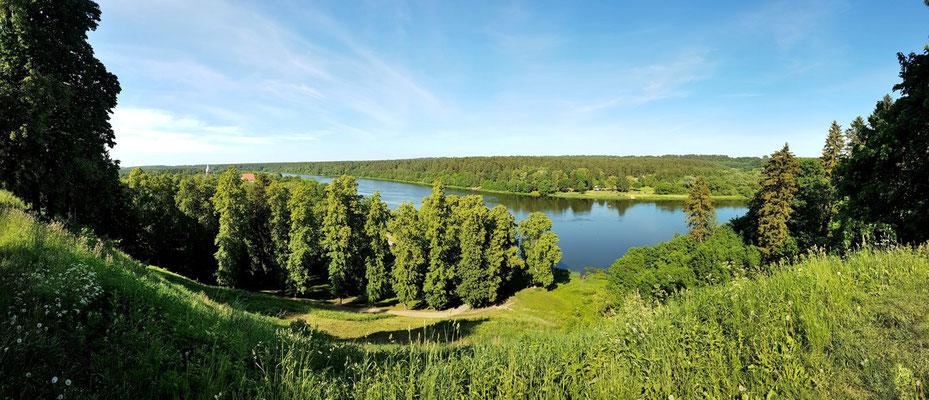 Litauen, Rundreise, Landschaft,  Straße 141 entlang