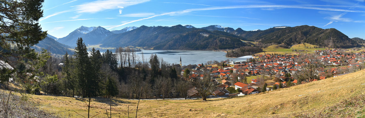 Panorama - Drohnenfoto - Schliersee - Schliersberg