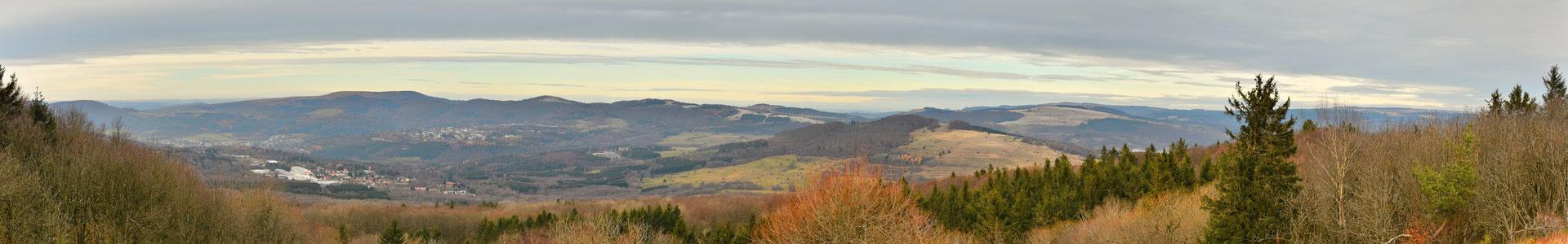 Panorama, Rhön, Aussicht, Herbst