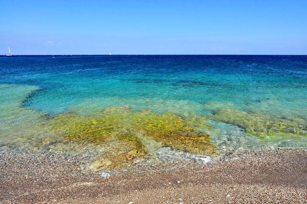 Griechenland, Rhodos, Meer, Strand, Beach