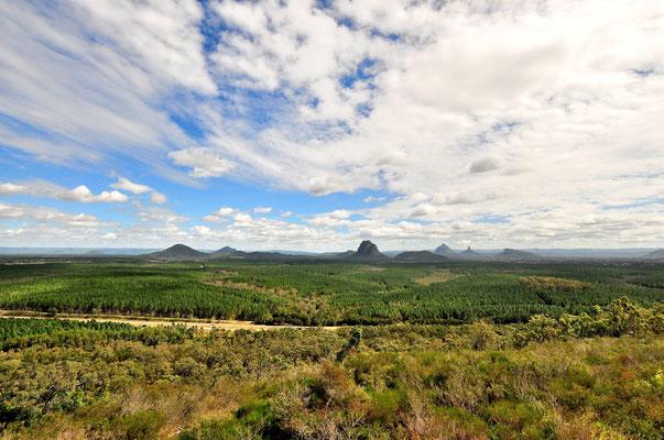 Australien, Australia, Ostaustralien, Ostküste, Queensland, Landschaft, Wild Horse Mountain Lookout